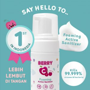 Active Sanitizer Foam BerryC
